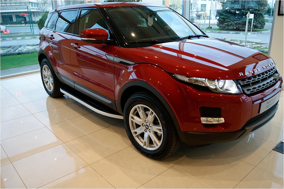 Range Rover Evoke >> Range Rover Evoque Accessories   Side Steps Set VPLVP0071 ...