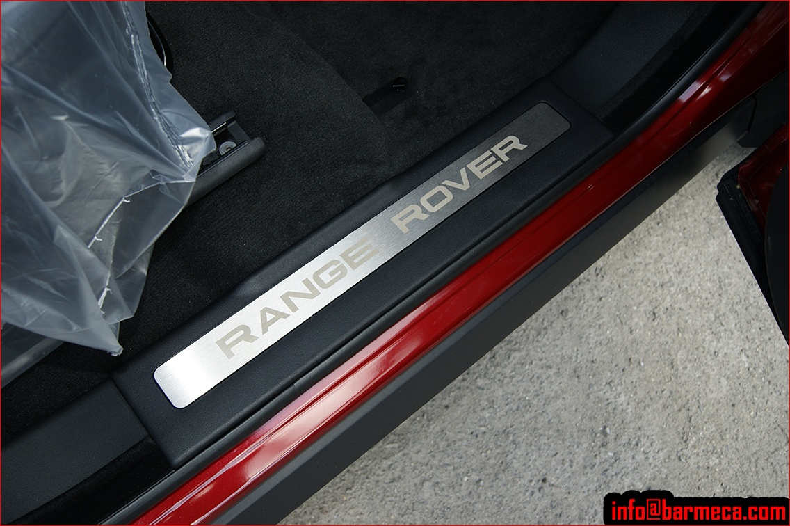 Range Rover Evoque >> BARMECA Automotive - Range Rover Evoque Side Steps Running Boards